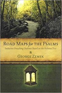 Road Maps for the Psalms